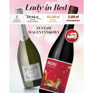 Zestaw Walentynkowy - Lady in Red