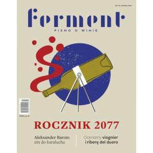FERMENT - pismo o winie. Wydanie nr. 16 / wiosna 2021