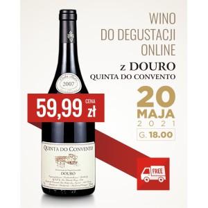 Wino do degustacji online z Douro - Quinta do Convento!
