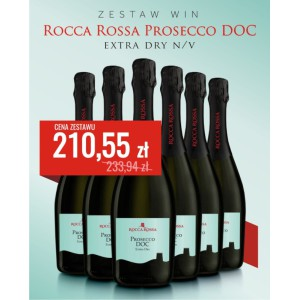Zestaw Prosecco Rocca Rossa