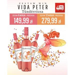 Zestaw win Vida Tunderrozsa 12 butelek