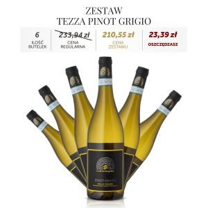 Zestaw Tezza PINOT GRIGIO